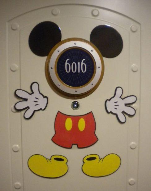 mickey door